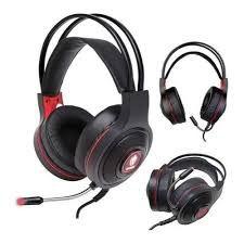 Headset Gamer Têmis EG-301RD 40MM P2 Evolut