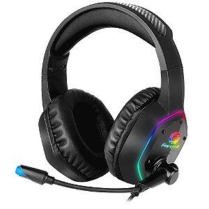 Headset Gamer RGB Blackfire P2 Preto FORTREK