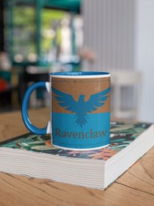 Caneca Alça colorida e interior Ravenclaw Quidditch team