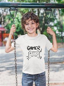 """Camisa Infantil """"Gamer"""""""