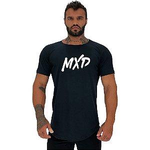 Camiseta Longline Masculina Manga Curta MXD Conceito Classic