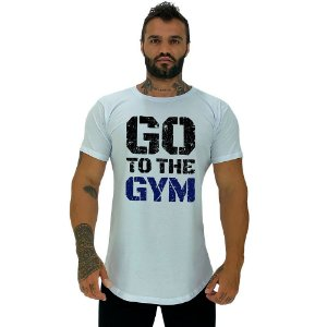 Camiseta Longline Masculina Manga Curta MXD Conceito Go To The Gym