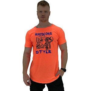 Camiseta Longline Manga Curta MXD Conceito Hardcore Style
