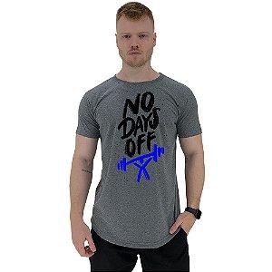 Camiseta Longline Manga Curta MXD Conceito No Days Off