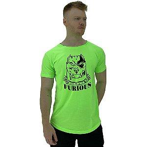 Camiseta Longline Manga Curta MXD Conceito Pitbull Furious
