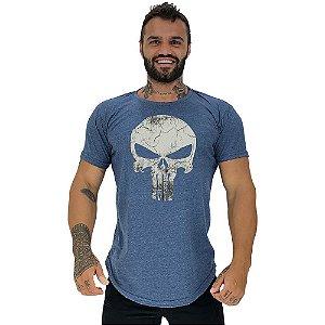 Camiseta Longline Manga Curta MXD Conceito Punisher