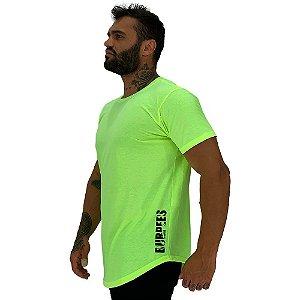 Camiseta Longline Masculina MXD Conceito Estampa Lateral Burpees