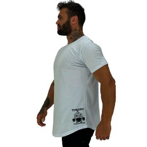 Camiseta Longline Masculina MXD Conceito Estampa Lateral To Ward The Sinister