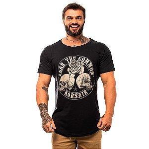Camiseta Longline Masculina MXD Conceito Limitada Fear The Common