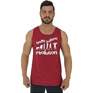 Regata Clássica Tradicional Masculina MXD Conceito Bodybuilding Evolution