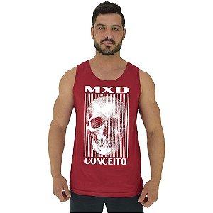 Regata Clássica Tradicional Masculina MXD Conceito Caveira Skull