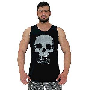 Regata Clássica Tradicional Masculina MXD Conceito Skull