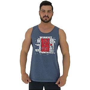 Regata Clássica Tradicional Masculina MXD Conceito Workout
