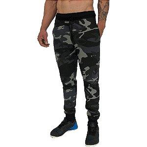Calça Masculina Moletom MXD Conceito Camuflado Escurecido