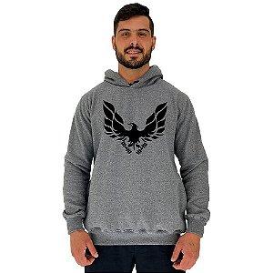 Blusa Moletom Masculino MXD Conceito Com Touca Fênix