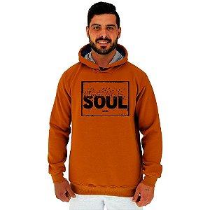 Blusa Moletom Masculino MXD Conceito Com Touca Soul