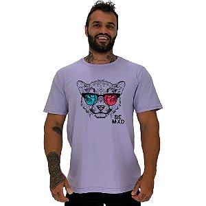 Camiseta Tradicional Manga Curta MXD Conceito Felino Visão 3D
