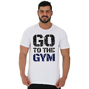 Camiseta Tradicional Manga Curta MXD Conceito Go To The Gym