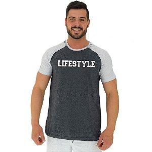Camiseta Tradicional Manga Curta MXD Conceito LifeStyle Estilo De Vida