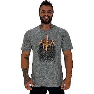 Camiseta Tradicional Manga Curta MXD Conceito Poseidon Rei Dos Mares