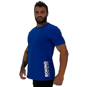 Camiseta Tradicional Masculina MXD Conceito Estampa Lateral Boxing King Of The Ring