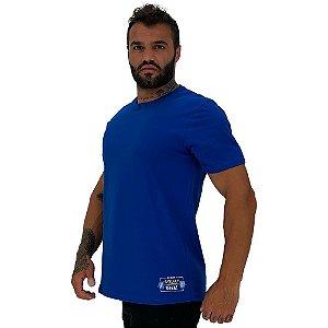 Camiseta Tradicional Masculina MXD Conceito Estampa Lateral Eat Sleep Squad repeat