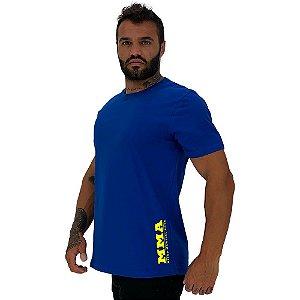 Camiseta Tradicional Masculina MXD Conceito Estampa Lateral MMA Mixed Martial Arts