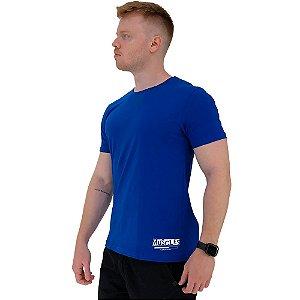 Camiseta Tradicional Masculina MXD Conceito Estampa Lateral Muscles Loading Please Wait