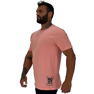 Camiseta Tradicional Masculina MXD Conceito Estampa Lateral No More Excuses
