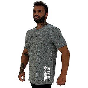 Camiseta Tradicional Masculina MXD Conceito Estampa Lateral Training Like a Bull