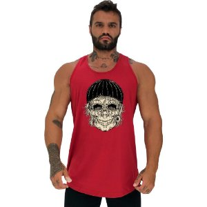 Regata Longline Masculina MXD Conceito Old Skull