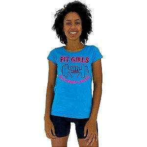 Camiseta Babylook Feminina MXD Conceito Fit Girls Sem Perder a Classe