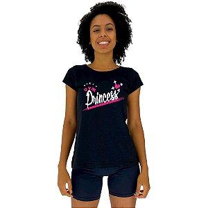 Camiseta Babylook Feminina MXD Conceito Princesa