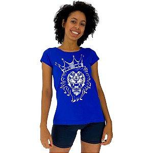 Camiseta Babylook Feminina MXD Conceito Rei Leão Lion King