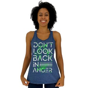 Regata Feminina Recorte Nadador MXD Conceito Don't Look Back In Anger