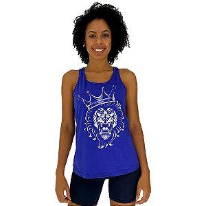 Regata Feminina Recorte Nadador MXD Conceito Lion King