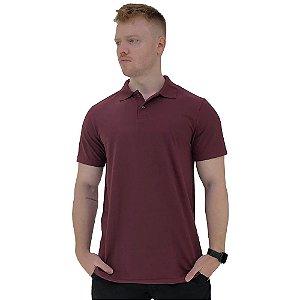 Camisa Gola Polo Masculina MXD Conceito Bordô