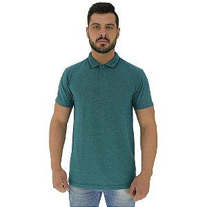 Camisa Gola Polo Masculina MXD Conceito Verde Pérola