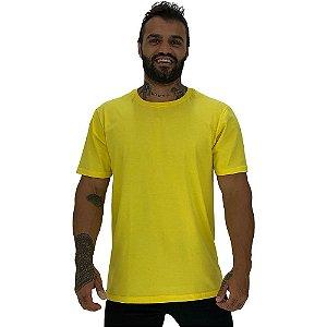 Camiseta Tradicional Masculina MXD Conceito Amarelo