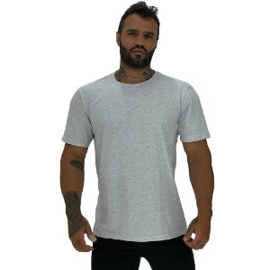 Camiseta Tradicional Masculina MXD Conceito Mescla Alvejado