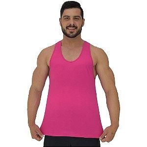 Regata Cavada Masculina MXD Conceito Rosa Pink