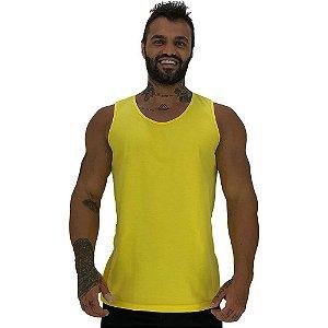 Regata Clássica Masculina MXD Conceito Amarelo
