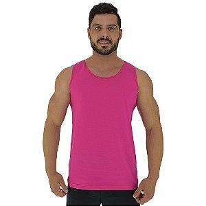 Regata Clássica Masculina MXD Conceito Rosa Pink