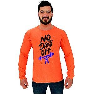 Camiseta Manga Longa Moletinho MXD Conceito No Days Off