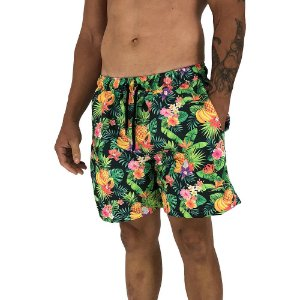 Shorts Praia Tactel Masculino MXD Conceito Flowers and Fruits