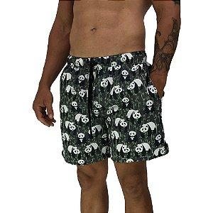 Shorts Praia Tactel Masculino MXD Conceito Pandas