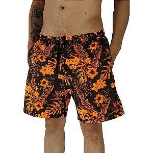 Shorts Praia Tactel Masculino MXD Conceito Anoitecer das Flores