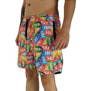Shorts Praia Tactel Masculino MXD Conceito Sale