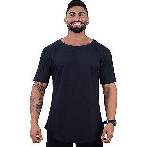 Camiseta Morcegão Masculina MXD Conceito Lisa Preto