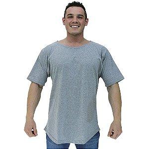 Camiseta Morcegão Masculina MXD Conceito Lisa Mescla
